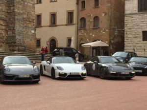 Autos desportivos, Porche, Vino, Montelpuciano, Toscana, Italia