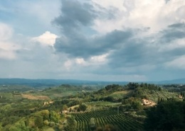 Paisaje, Toscana, Italia