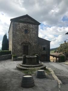 Locas por el mundo en Volpaia, Italia