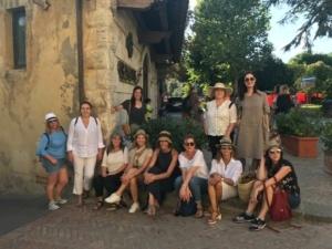 Locas por el mundo en Toscana
