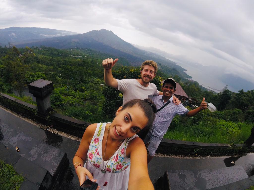 foto de viajes a Bali - volcanes